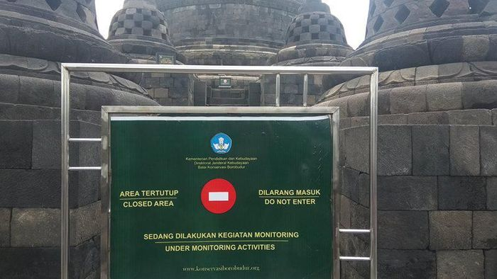 Candi Borobudur sampai lantai 8