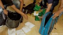 Kurir Narkoba di Surabaya Kantongi 12 Kg Sabu