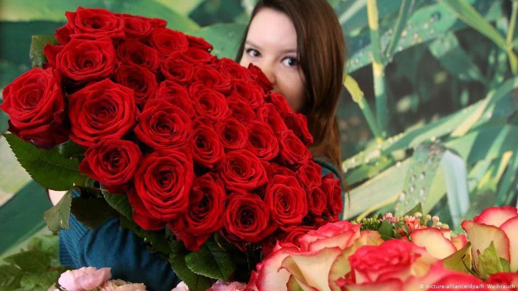 Kurang Romantis, Angka Penjualan Hari Valentine di Jerman Masih Minim