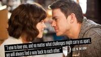 Ada banyak kutipan-kutipan romantis dari film yang bisa digunakan sebagai ucapan pada Hari Valentine ini.Dok. Ist