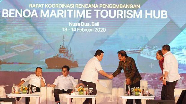 Dipimpin Erick Thohir, 7 Menteri Revitalisasi Pelabuhan Benoa
