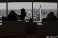 Pemandangan di lantai 24
