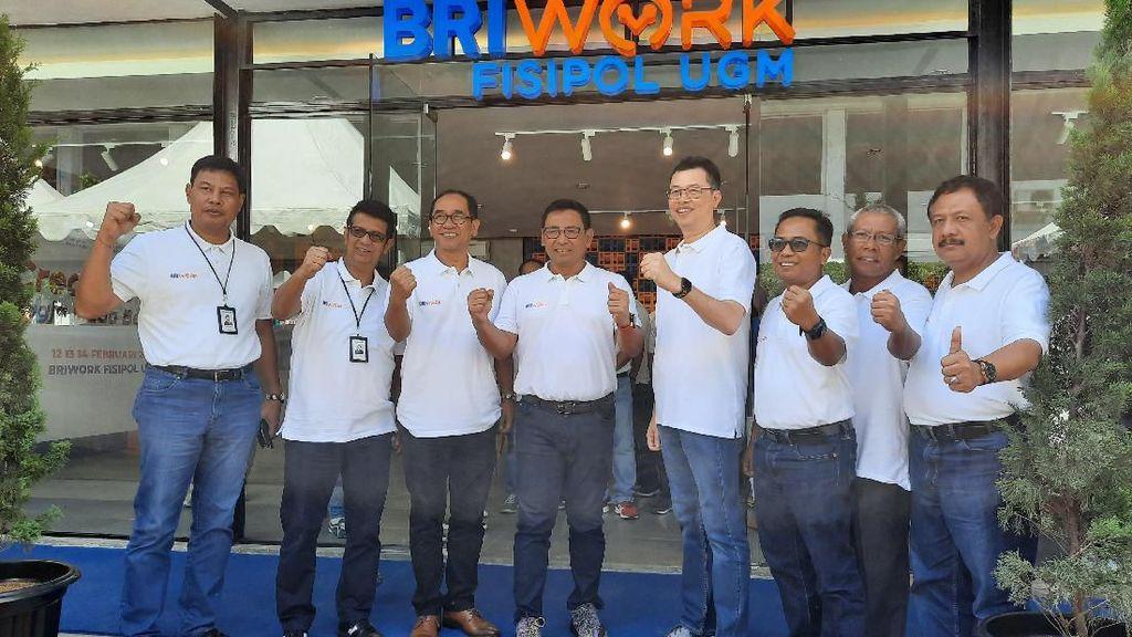 Layanan Perbankan, Co-Working Space & Cafe Jadi Satu di BRIWork UGM