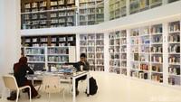 Potret Perpustakaan Instagramable di Kedubes Belanda