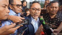 Usai Diperiksa KPK, Zulkifli Hasan Jelaskan Izin Alih Fungsi Hutan Riau