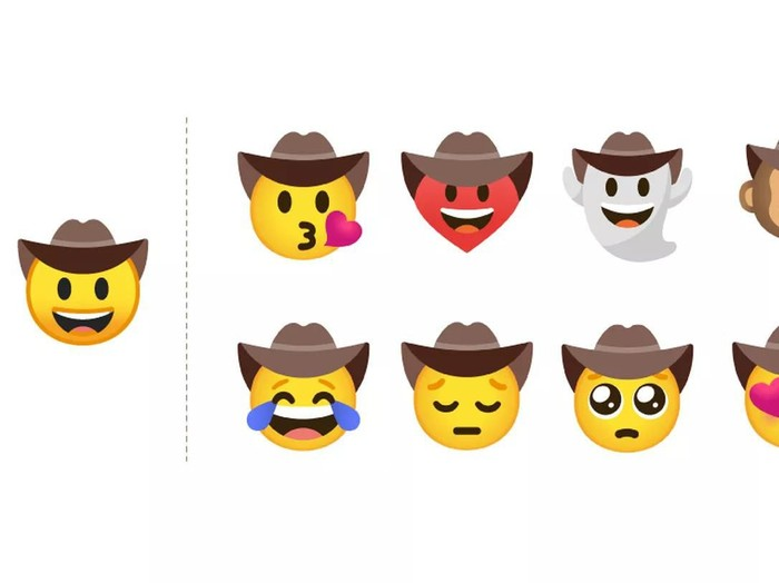 Google emoji kustomisasi