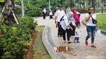 Bersantai dan Bermain di Alun-alun Kota Depok
