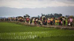Etnis Rohingya di Kamp Bangladesh Suka Cita atas Penahanan Aung San Suu Kyi