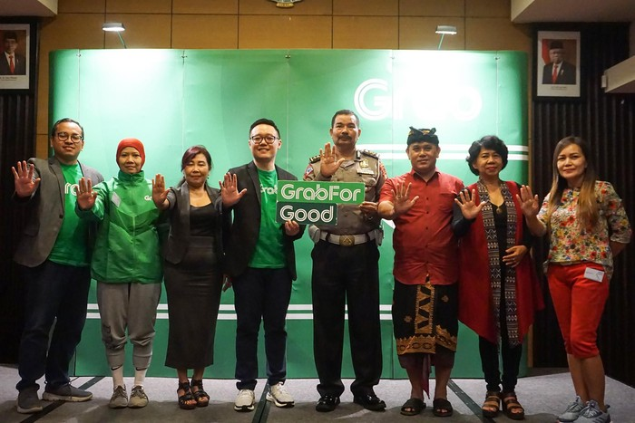 Grab Road Safety Bali