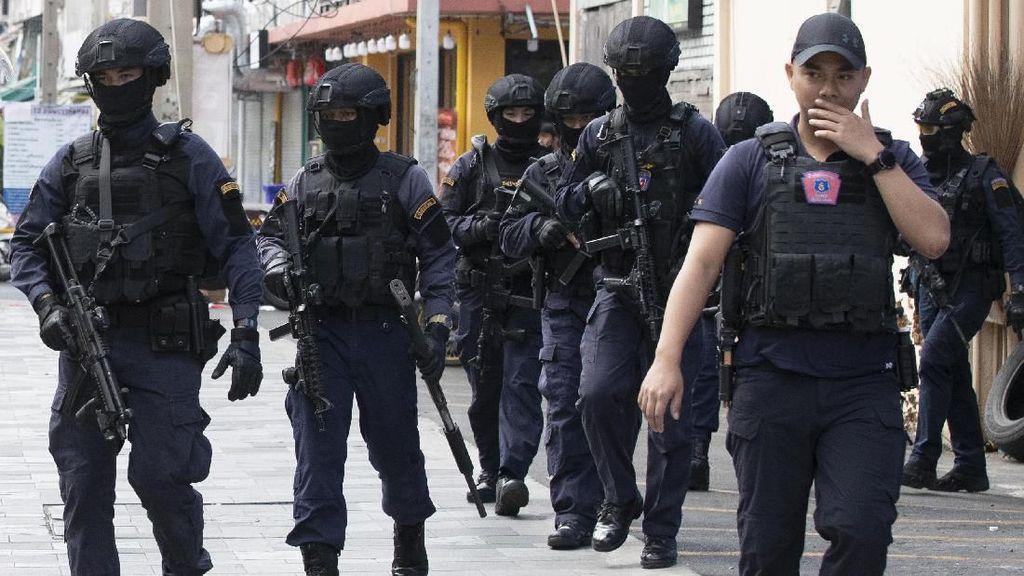 Lepaskan Puluhan Tembakan di Bangkok, Seorang Pria Ditangkap