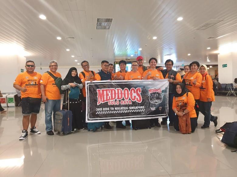 MedDocs & Friends Indonesia, Komunitas Dokter Penunggang Bikers Moge