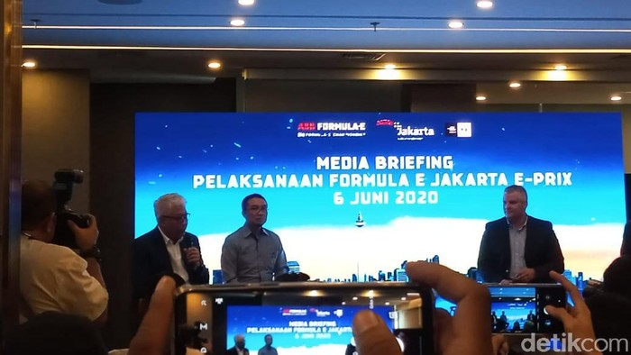 Media Briefing Jakpro soal Formula E di Monas
