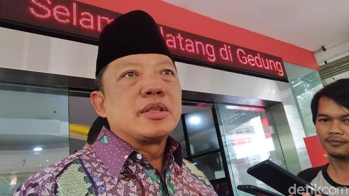 Direktur Penyidikan pada Jaksa Agung Muda Tindak Pidana Khusus Kejaksaan Agung, Febrie Adriansyah (Wilda Hayatun Nufus/detikcom)