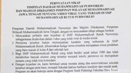 Pasca Penyiksaan Siswi SMP Purworejo, Ini Langkah Muhammadiyah