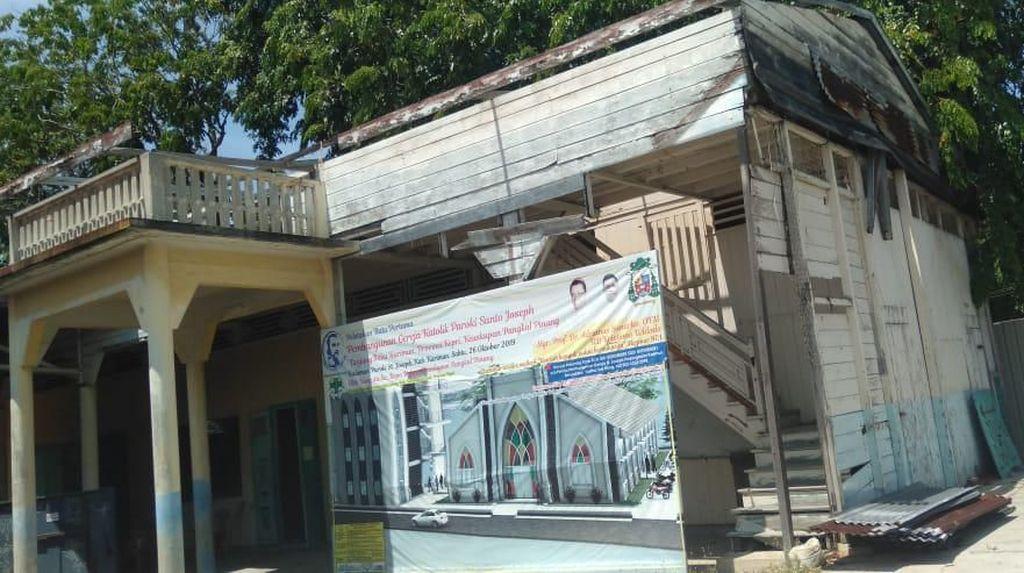 Pengurus Gereja di Kepri Dipolisikan di Tengah Polemik Renovasi