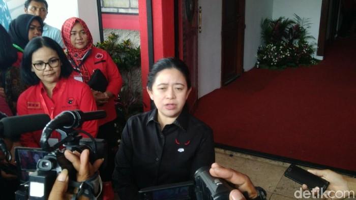 Ketua DPP PDIP Bidang Politik dan Keamanan Puan Maharani  di DPD PDIP Jateng