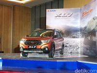 Suzuki XL7 memiliki komponen lokal sebesar 85%.