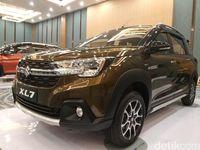 Suzuki XL7 berarti mobil Extra yang bisa muat 7 orang penumpang.