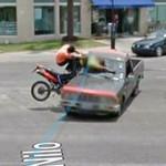 Google Maps Rekam Kecelakaan Mengerikan, Motor Vs Pick Up