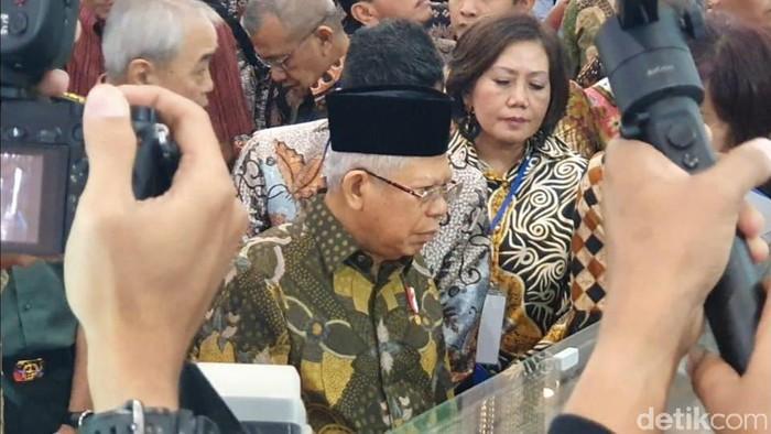 Maruf Amin Buka Acara Pameran Indonesia Properti Expo 2020 (Foto: Rahel/detikcom)