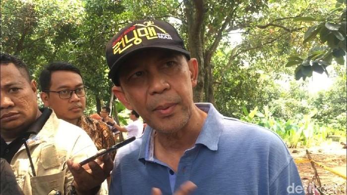 Sekretaris Utama (Sestama) Bapeten, Hendrianto Hadi Tjahyanto. (Foto: Rolando/detikcom)