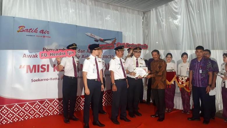 Setelah Dikarantina, Pahlawan Kemanusiaan dari Wuhan Tiba di Jakarta