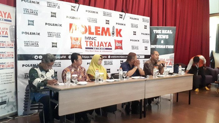 Diskusi Polemik Skema Dana BOS, Kenapa Diubah? di Ibis Tamarin, Jl KH Wahid Hasyim, Jakarta Pusat.