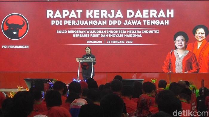 Puan Maharani buka Rakerda PDIP di Semarang