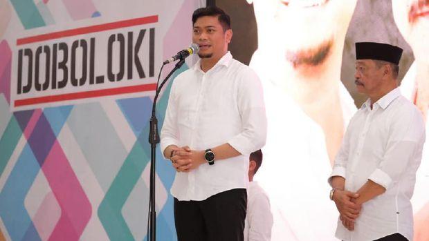 Kembali Berpasangan di Pilbup Gowa 2020, Adnan-Kio Deklarasi 'Doboloki'