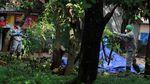 Petugas Gabungan Bersihkan Sisa Radioaktif di Batan Indah