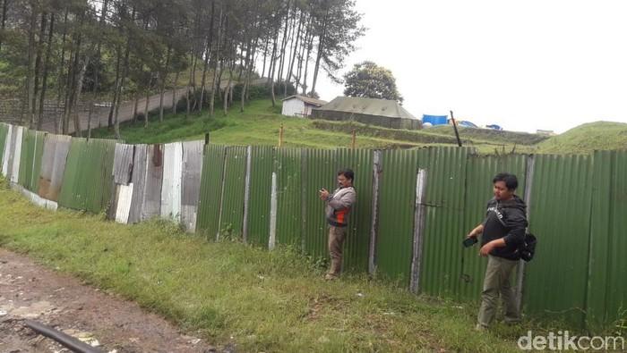 Pembangunan waterboom di Gunung Batu Lembang, Bandung Barat