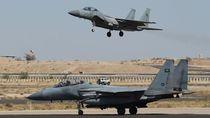 Jet Tempur Saudi Ditembak Jatuh di Yaman