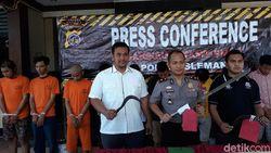 Kepergok Polisi Patroli di Sleman, Geng Sekolah Pelaku Klitih Diciduk