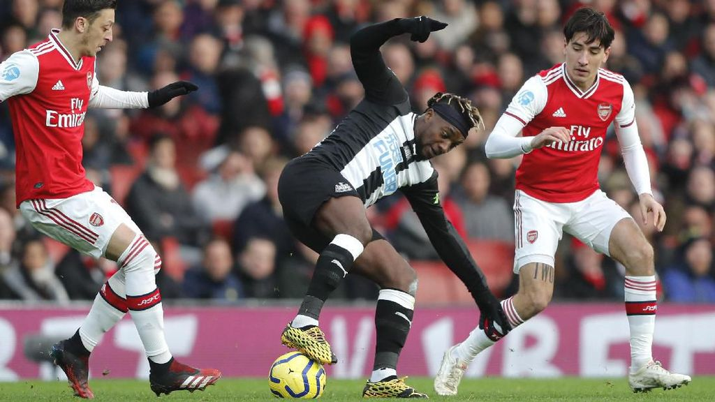 Arsenal Vs Newcastle Masih Imbang Tanpa Gol di Babak Pertama