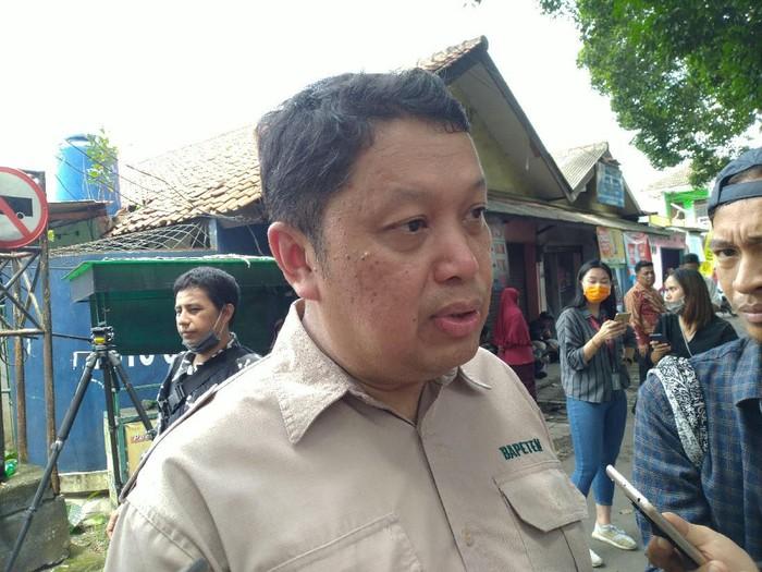 Kepala Biro Hukum Kerja Sama dan Komunikasi Publik Bapeten Indra Gunawan