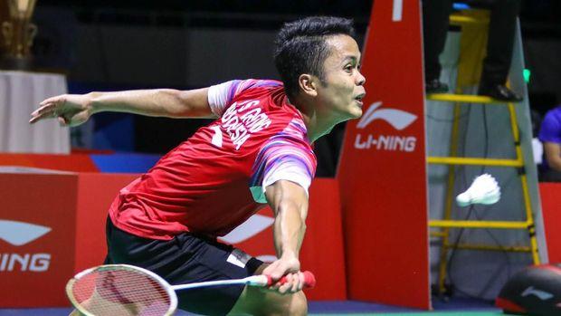Anthony Ginting berikan poin pertama untuk Indonesia di final BATC 2020.