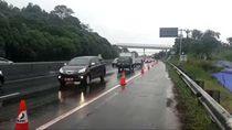 Terdampak Longsor Ruas Tol Cipularang KM 118 Alami Kepadatan Lalu Lintas