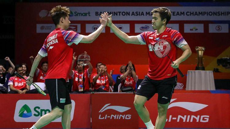 Mantap! Indonesia Juara di Kejuaraan Bulutangkis Beregu Asia 2020