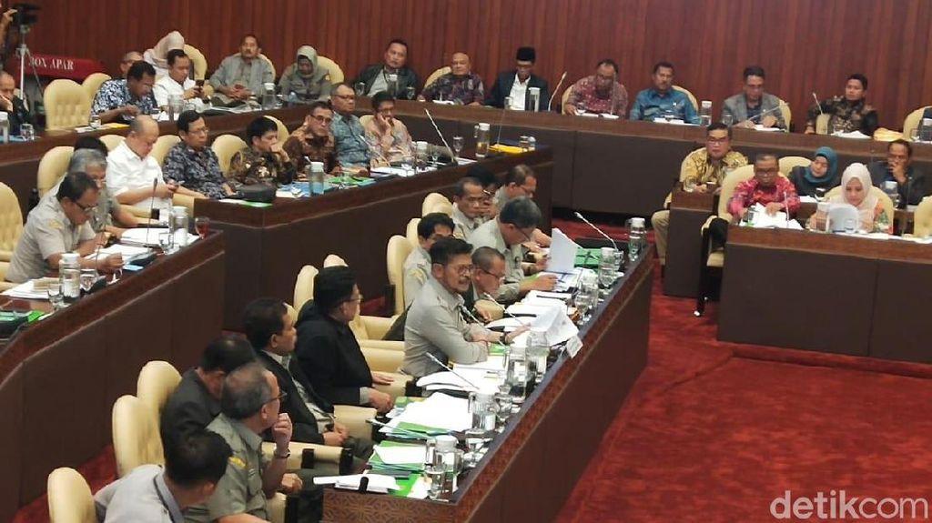 Mentan-DPR Lanjut Rapat Bareng Bahas Program Kerja 2020