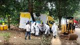 Video Pembersihan Limbah Radioaktif, Batan-Bapeten Angkut 107 Drum