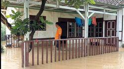 Sungai Citanduy dan Cikidang Meluap, 50 Rumah di Tasik Terendam Banjir