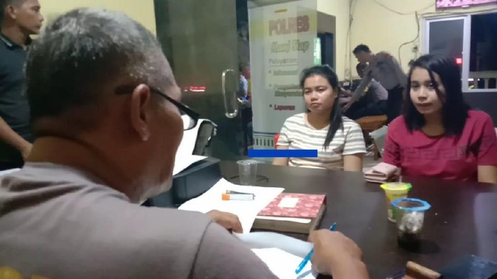 Dua ibu muda melapor ke polisi karena kehilangan emas saat mengikuti tes CPNS (dok. istimewa)