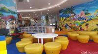 Salah satu layanan yang bisa dinikmati pengunjung Perpustakaan Nasional adalah Layanan Anak-anak. (Syanti/detikcom)