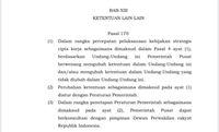 Heboh Jokowi Bisa Ubah UU via Penerbitan PP di Omnibus Law