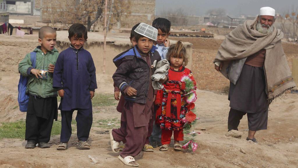 Potret Kehidupan Anak-anak Pengungsi Afghanistan