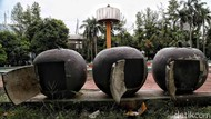 Taman Martha Tiahahu Blok M Menanti Aksi untuk Diperbaiki