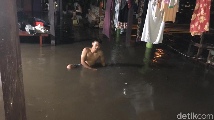 Parepare kembali dilanda banjir (Hasrul Nawir/detikcom)