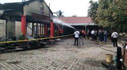 Polres Ogan Ilir Terbakar, 3 Gedung Utama Hangus