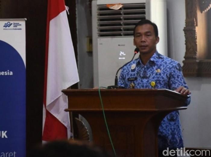 Bupati Batang, Jawa Tengah, Wihaji, Senin (17/2/2020)