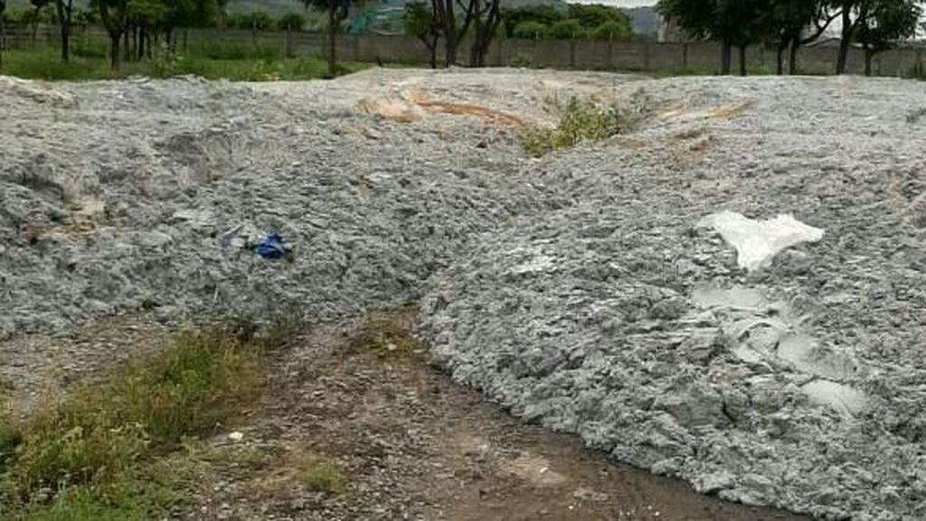 Polisi Panggil Perusahaan Pembuang Limbah Kertas di Kawasan Industri Cilegon